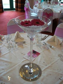 Wedding Centrepieces Martini Vases Candelabras Fairy Light Backdrop Led Dance Floor Cardiff