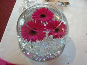 Bubble bowl centrepiece