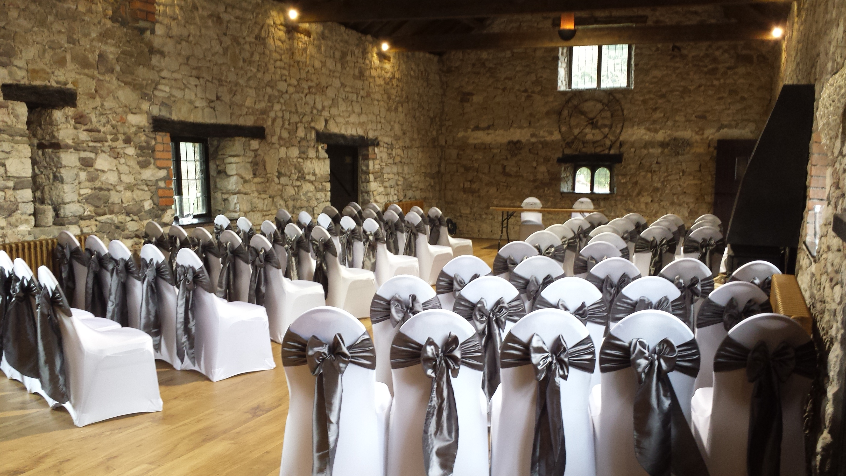 sash colours chair covers and bows
